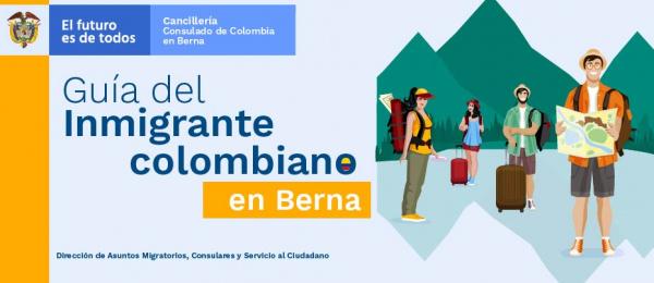 Guía del inmigrante colombiano en Berna de 2019