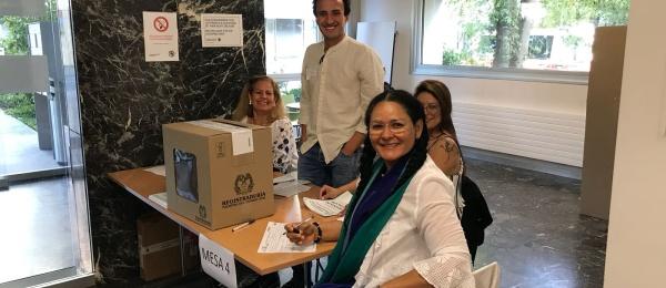 Consulado de Colombia en Berna inició el último día  de la Consulta Anticorrupción 2018
